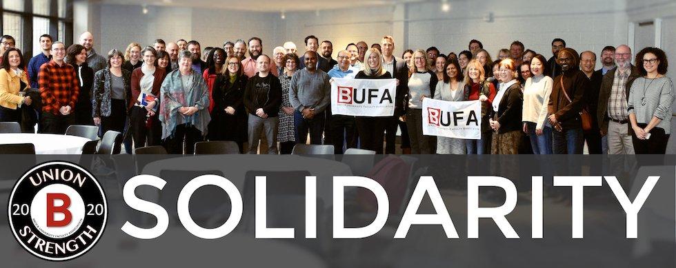 2020 BUFA Solidarity